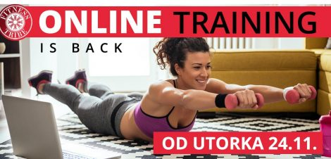 Online trening is back Fitness Tribe